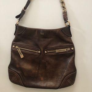Gucci Bronze Shoulder Bag